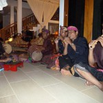 Gamelan in der Villa
